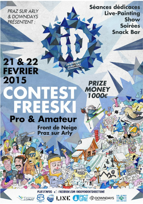 Id contest ski freestyle office de tourisme de praz sur arly - Office de tourisme praz sur arly ...