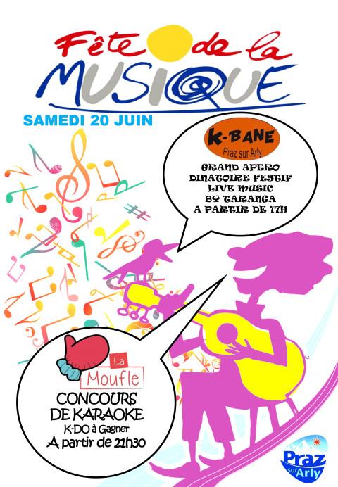 F te de la musique le programme office de tourisme de praz sur arly - Office de tourisme praz sur arly ...