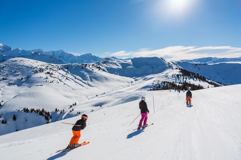 Le domaine skiable office de tourisme de praz sur arly - Office tourisme notre dame de bellecombe ...