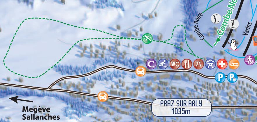Ski de fond office de tourisme de praz sur arly - Office de tourisme praz sur arly ...