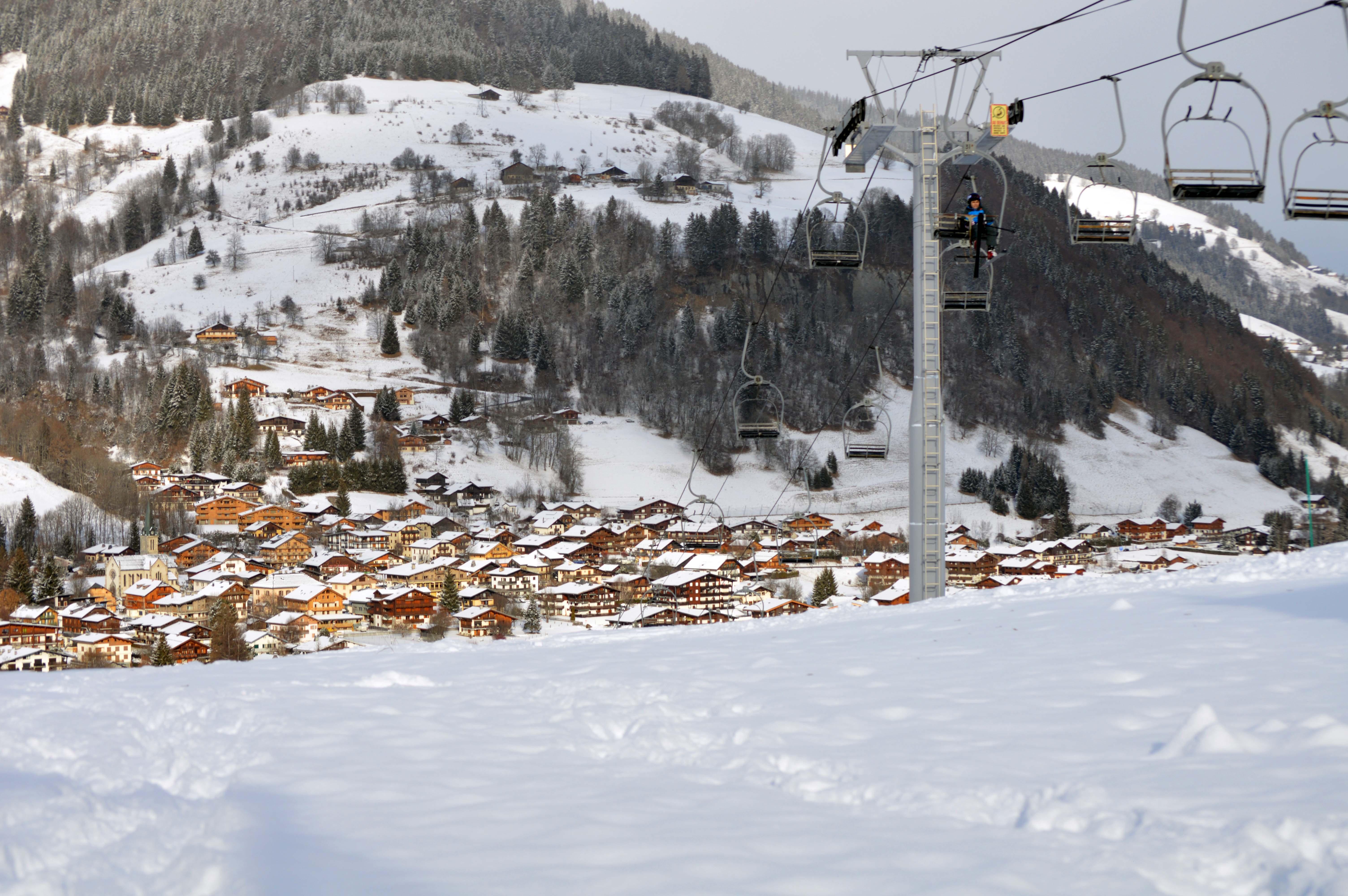 La neige est de retour office de tourisme de praz sur arly - Office de tourisme praz sur arly ...